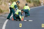 Equipos de investigación de accidentes de tráfico.E
