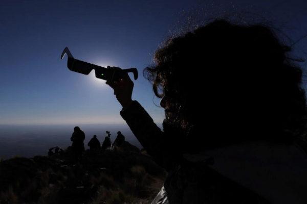 Imagen del último eclipse solar