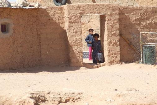 Campamentos saharauis de Tinduf.