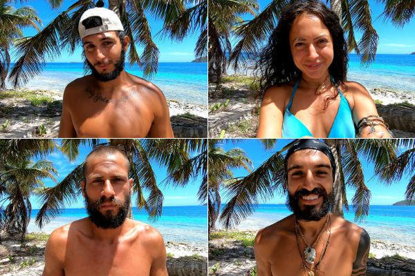 Omar, Mahi, Albert y Fabio, concursantes de Supervivientes 2019 en Telecinco, hacen sus alegatos para ganar