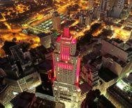 Torre Banespa, patrimonio histórico de São Paulo (Brasil) y propiedad del Banco Santander.