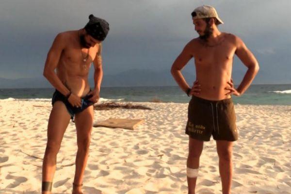 Fabio y Omar se despidieron de Honduras con un baño desnudos en Supervivientes 2019 en Telecinco
