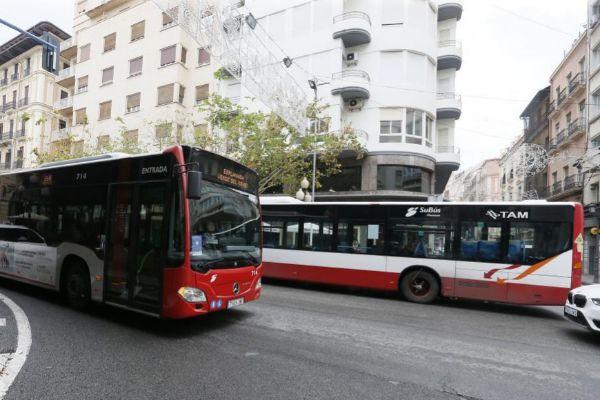 El autobús urbano de Alicante, en imagen de archivo.