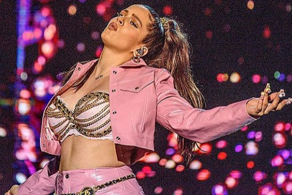 La cantante Rosalía.