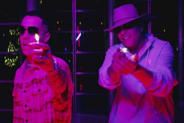 Brytiago y Darell en el vídeo de Velitas, su nuevo single