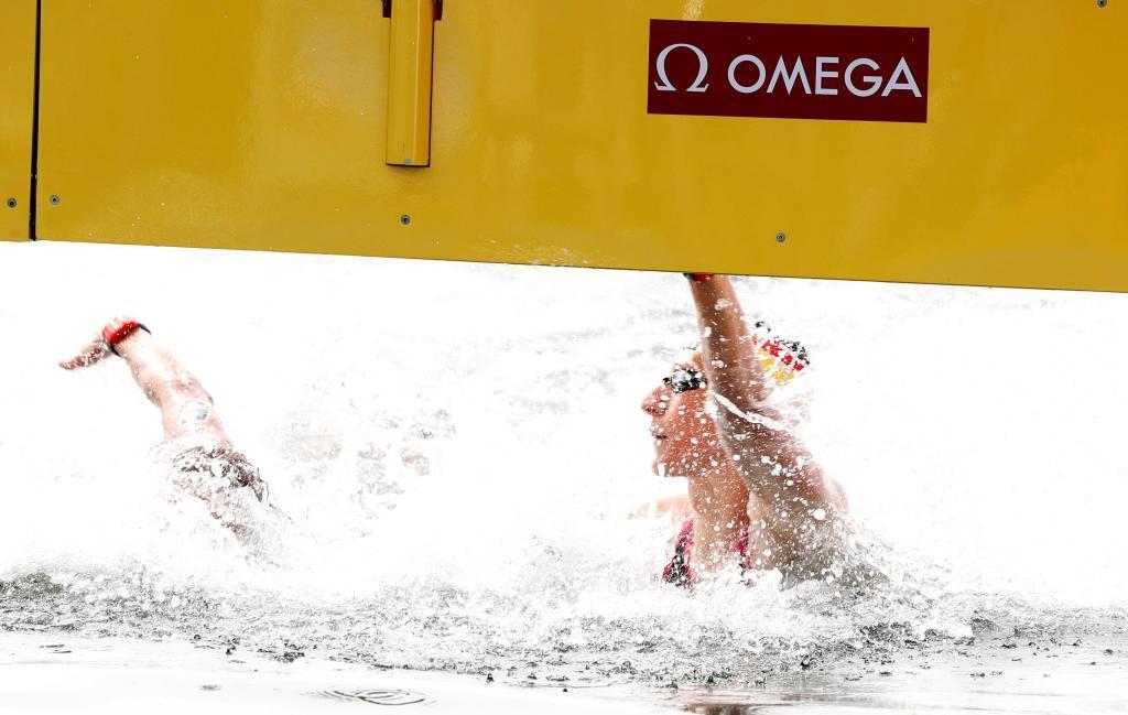 'Photo finish' para decidir el oro tras casi dos horas de agonía en las aguas abiertas