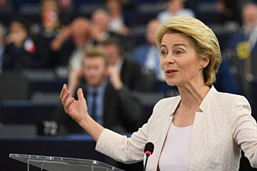 Ursula von der Leyen logra la investidura como presidenta de la Comisión Europea en 14 días