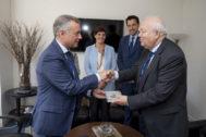 Urkullu y Moratinos, en las Naciones Unidas.