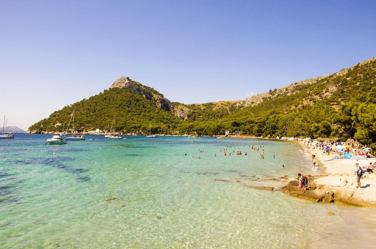 Al norte de la isla, en la península de Formentor, se encuentra esta...