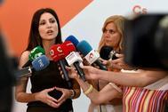 Lorena Roldán, el pasado domingo en Madrid.