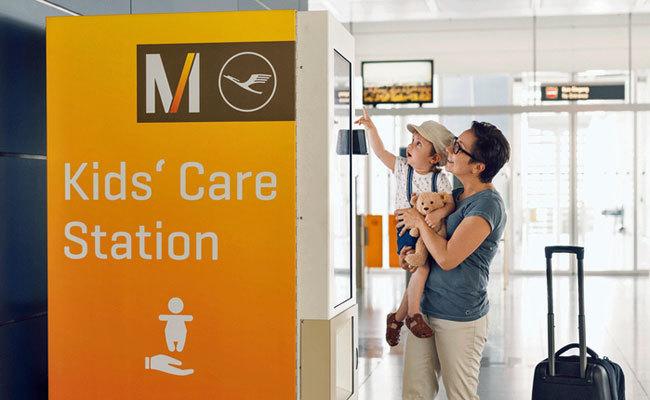 Lo último en viajes con niños: máquinas expendedoras para bebés