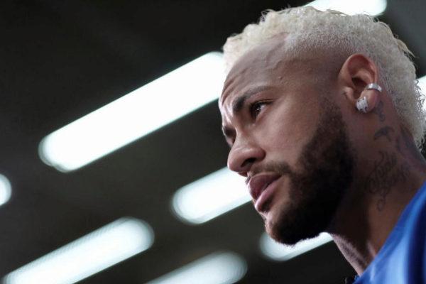 Neymar, durante una entrevista reciente en Brasil.