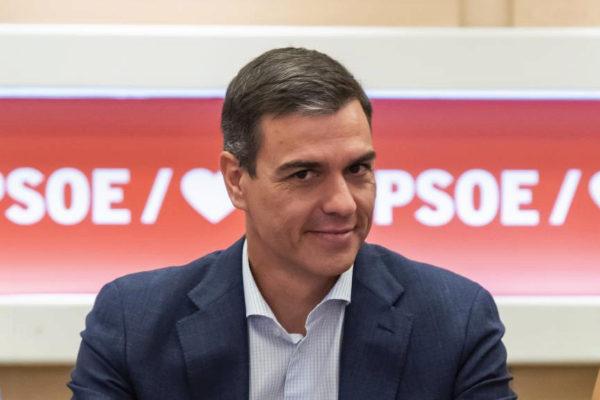 Pedro Sánchez, presidente del Gobierno en funciones y candidato a la investidura.
