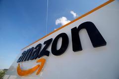 Centro logístico de Amazon en Francia.