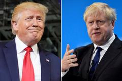 Boris Johnson y Donald Trump: similar melena, mismo signo del Zodiaco e idénticas ambiciones