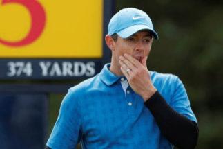 El peor arranque de McIlroy en el British Open: +4 en el primer hoyo