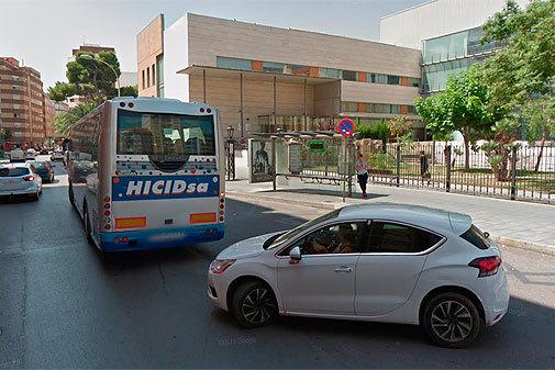 La calle República Argentina de Castellón es una de las que 'enmarca' el Hospital Provincial.