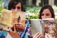 Los editores Sergio Pérez y Judit Terradellas.