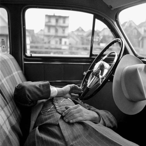Fotografíade la artista Vivian Maier.