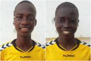 Los dos menores de Sierra Leona fugados el sábado en San Sebastián.