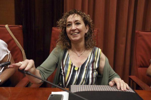 Antonio Moreno 18.07.2019 Barcelona Cataluña. La consellera de Justicia Ester <HIT>Capella</HIT> en la comisión de Justicia del Parlament.