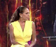 Isabel Pantoja, durante una gala de 'Supervivientes'
