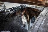 La complicada reconstrucción de Notre Dame tres meses después del incendio