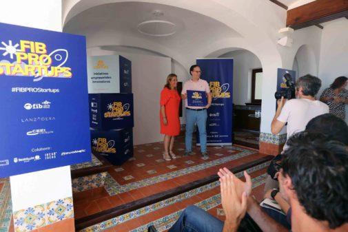 Entrega de premios de la Startup Competition del FIB, este jueves en Villa Elisa.