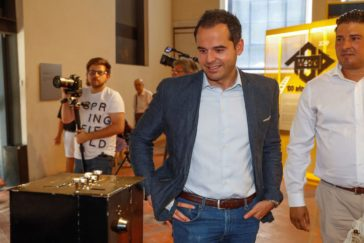 Ignacio Aguado, esta semana, en Madrid.