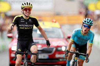 Tour de France - The 209.5-km Stage 12 from Toulouse to Bagneres-de-Bigorre