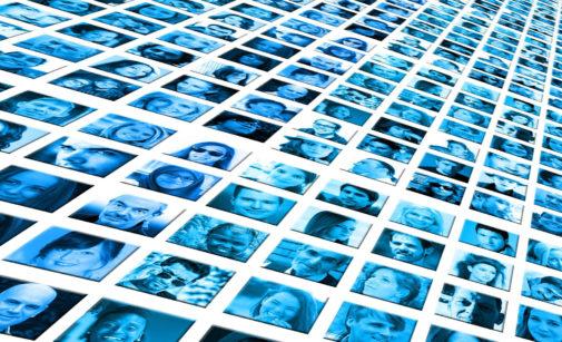 Diversidad facial en mujeres y hombres.