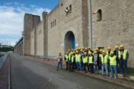 Visita de alumnos de 4º curso de Ingeniería de Caminos, a la Central Hidroeléctrica de Alcalá del Río de Sevilla.