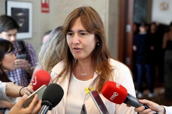 La líder de JxCat en el Congreso, Laura Borràs.