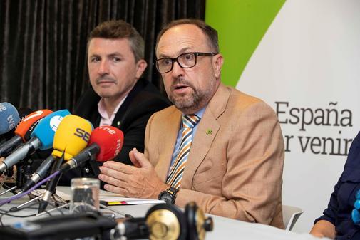 El negociador de Vox en la Región de Murcia, Luis Gestoso.