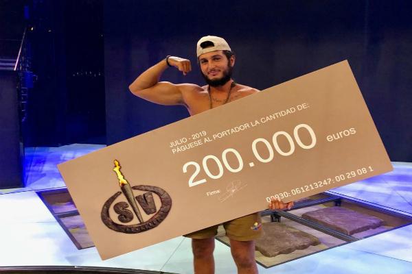 Omar Montes se lleva los 200.000 euros tras ganar Supervivientes 2019