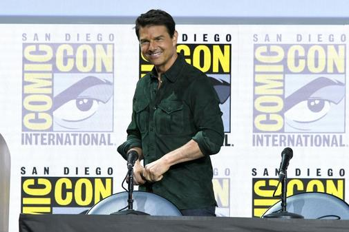 El actor Tom Cruise habla en Comic-Con, en San Diego, California, EEUU.