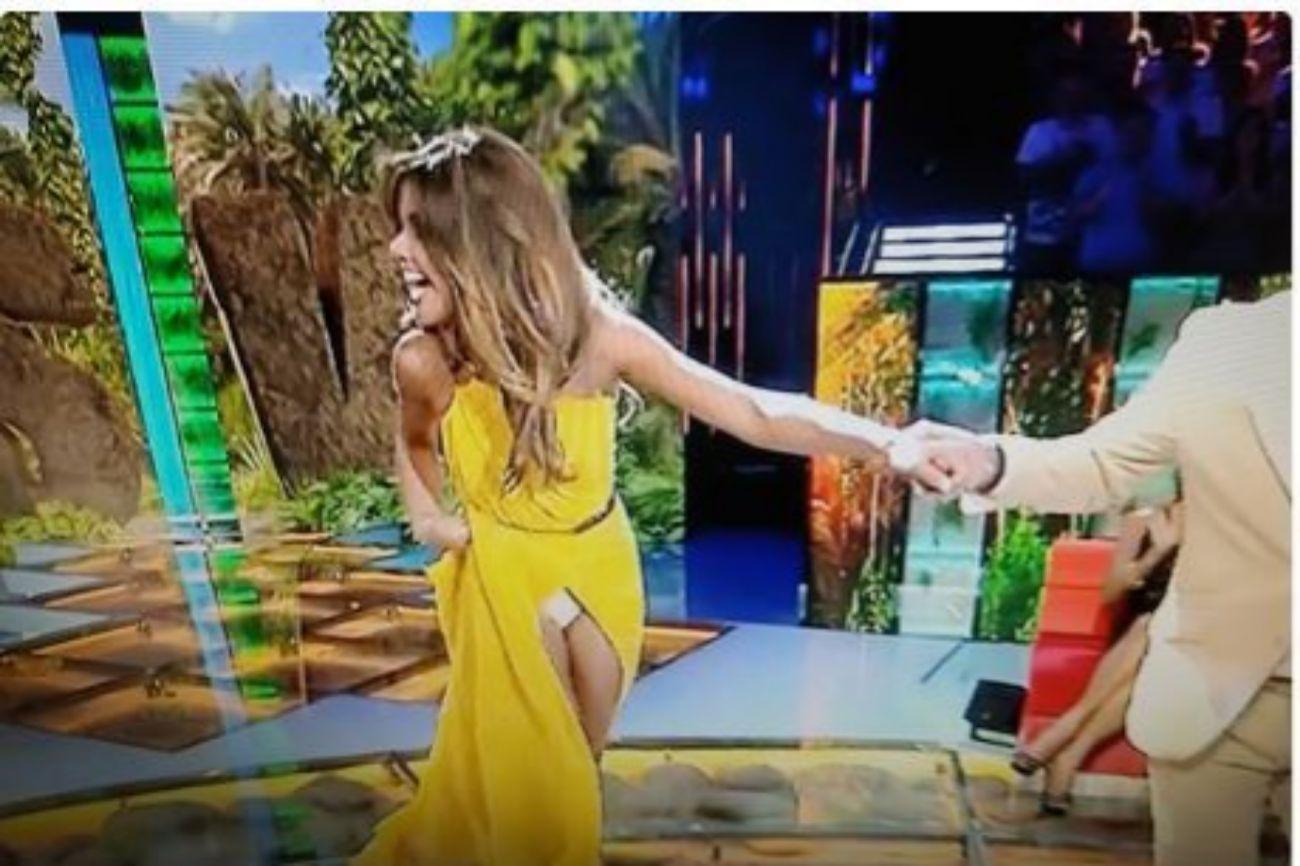 La presentadora, de 33 años, protagonizó uno de los momentos más...
