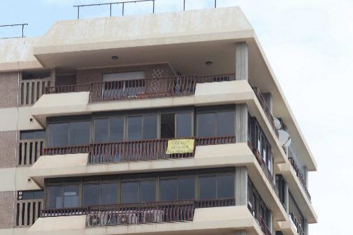 Bloque de apartamentos en la localidad de Benicàssim.