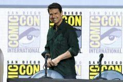 El actor Tom Cruise habla en Comic-Con, en San Diego, California, EEUU.