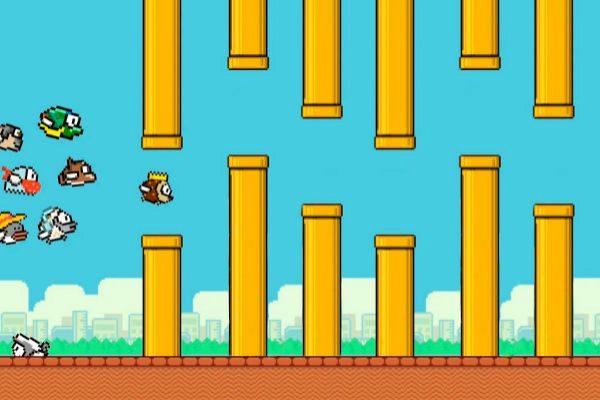 Así es el juego que combina Fortnite y Flappy Bird
