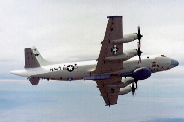 Aeronave estadounidense EP-3E.