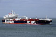 Irán alega que el buque británico retenido chocó con un pesquero