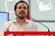 Alberto Garzón interviene en la Coordinadora Federal de IU