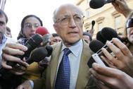 El exfiscal Francesco Saverio Borrelli, en una fotografía de archivo.