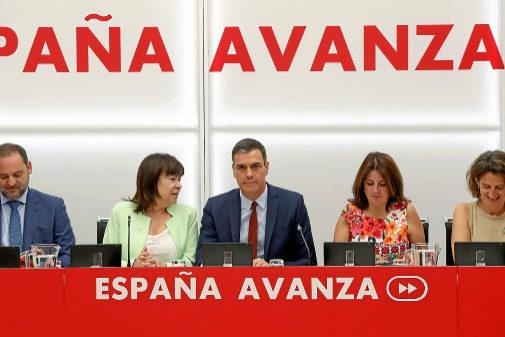 Pedro Sánchez presidente la Ejecutiva Federal del PSOE