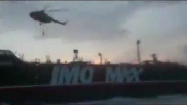 Soldados encapuchados y un helicóptero: así fue el asalto iraní en Ormuz