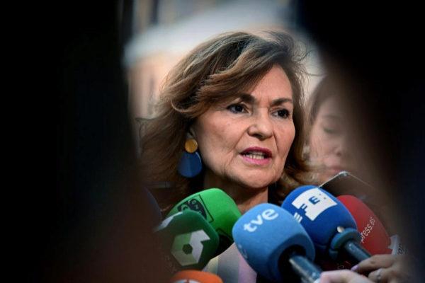 GRAF5429. MADRID.- La vicepresidenta del Gobierno en funciones, Carmen...