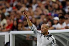 Zidane, en el encuentro ante el Bayern.
