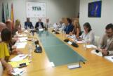 consejo de administración de la RTVA, reunido este jueves bajo la presidencia de Rafael Porras.