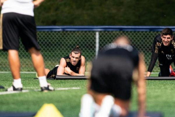 AME5925. MONTREAL (CANADÁ).- Los futbolistas del Real Madrid Gareth...